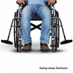 Ergo 115 Swing Away Footrests