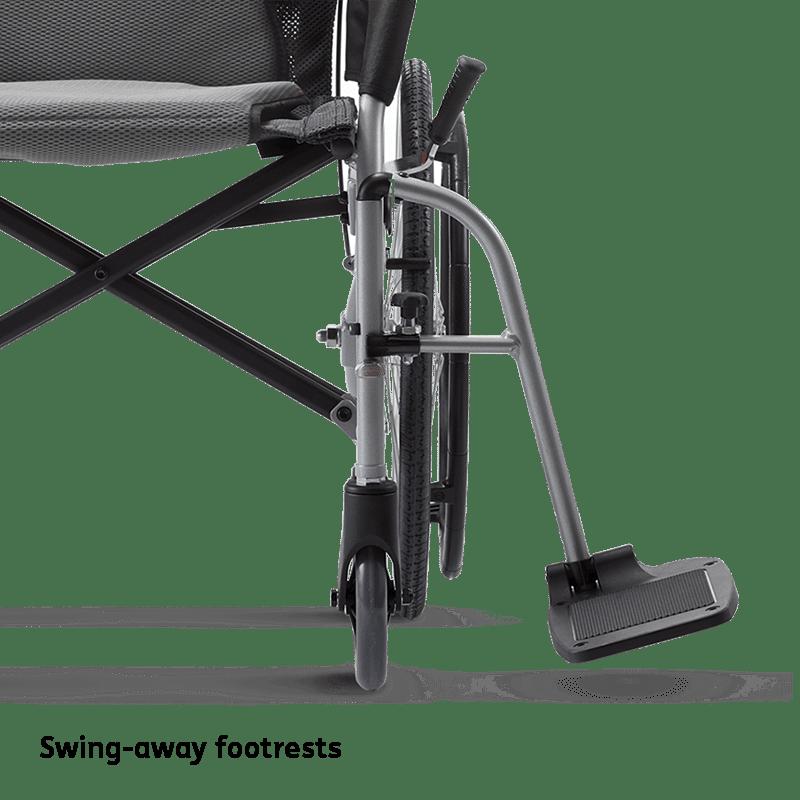 Ergo Lite 2 Swing Away Footrests