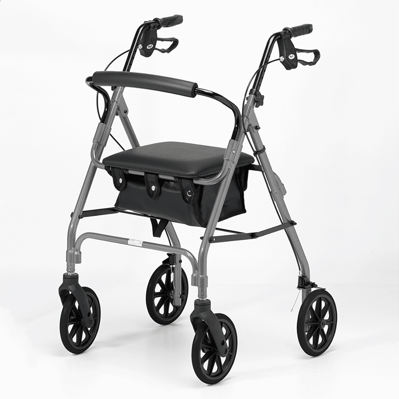 Four Wheeled Rollator - Quartz
