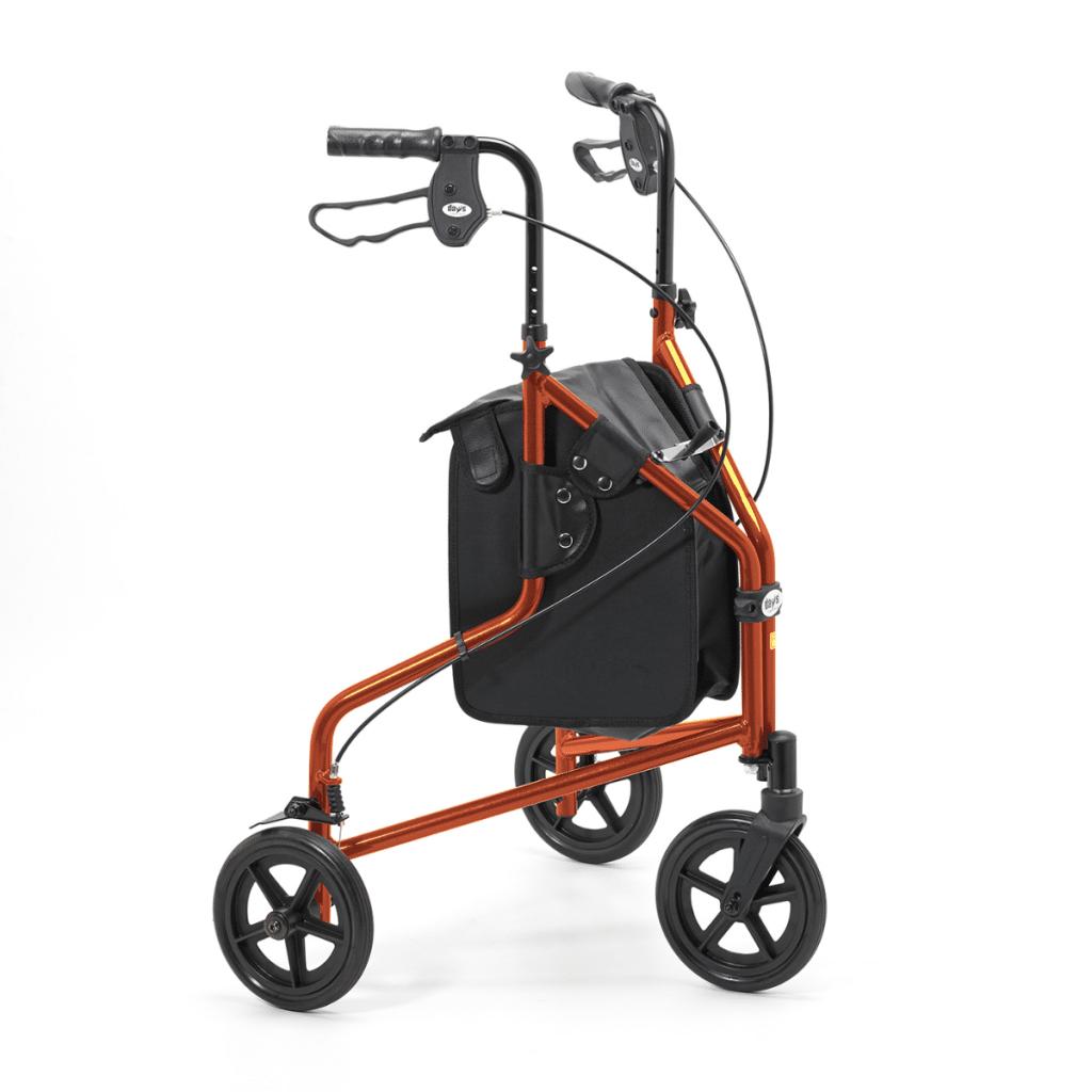 Three Wheel Walker - Russet Orange