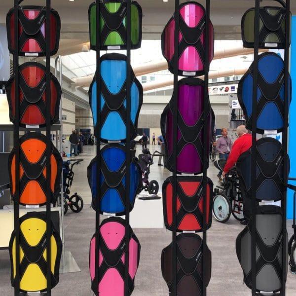 Ki Mobility Rogue backrest colours