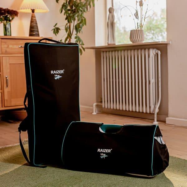 Raizer M carry bag kit lifestyle