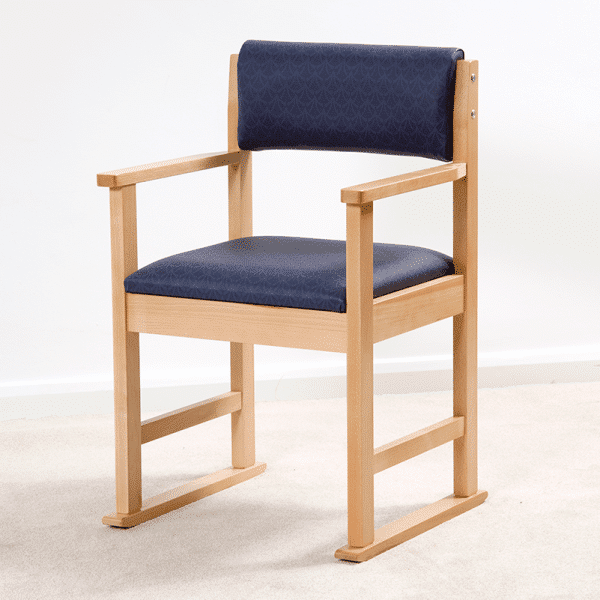 Glida Dining Chair with Skids