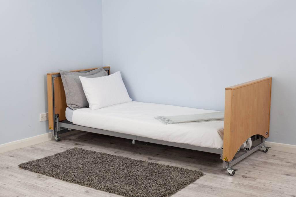 Medley Ergo Select Low Profiling Nursing Care Bed Felgains