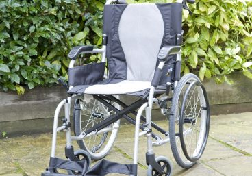 Ergo Lite 2 Wheelchair in self-propel
