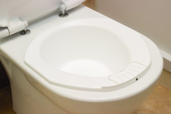 Portable Bidet Fits Into A Toilet Bowl