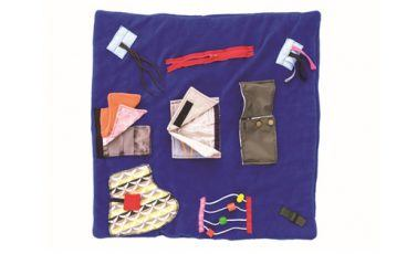 Tactile Activity Blanket for Restless Hands