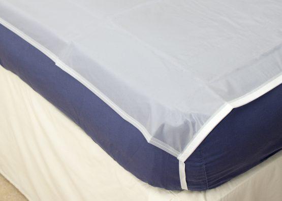 PVC Tie On Mattress Sheet