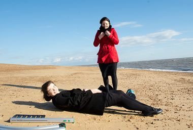 Raizer Emergency Lifting Chair on the beach