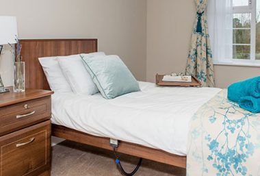Lavender Fields room with Legato bed