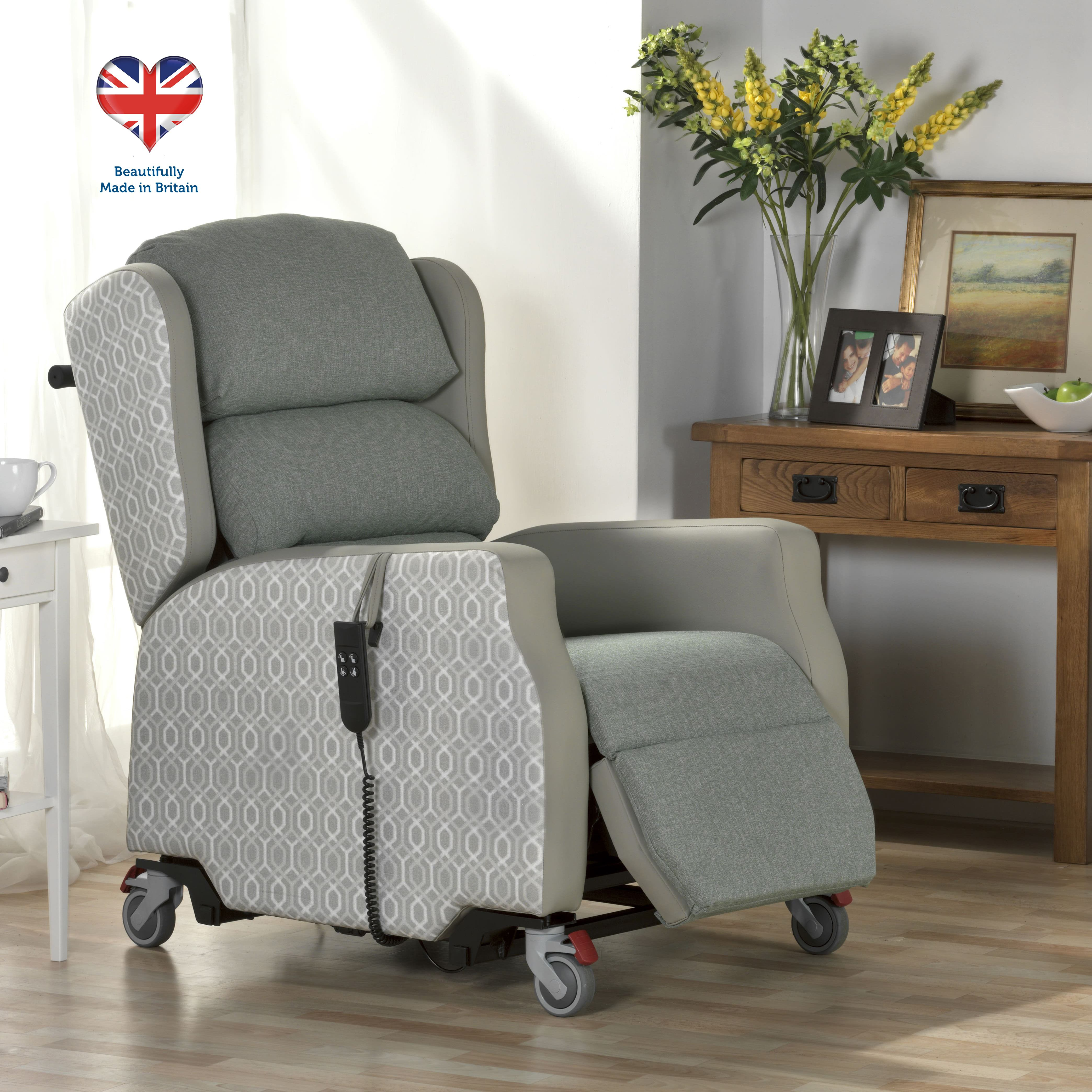 Madison Portable Rise and Recline Armchair UK Delivery